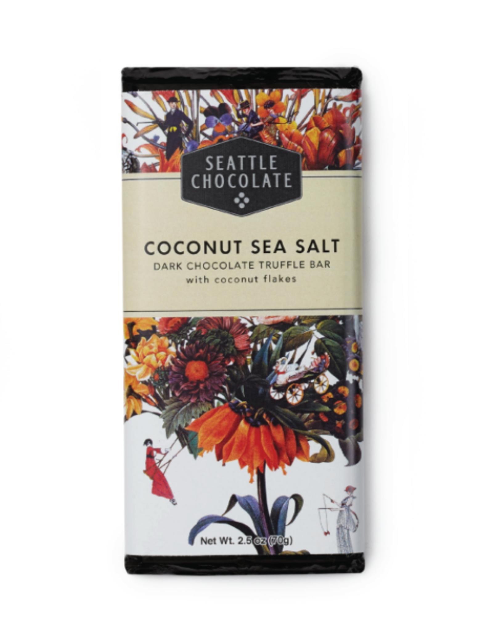 Seattle Chocolate Coconut Sea Salt Truffle Bar