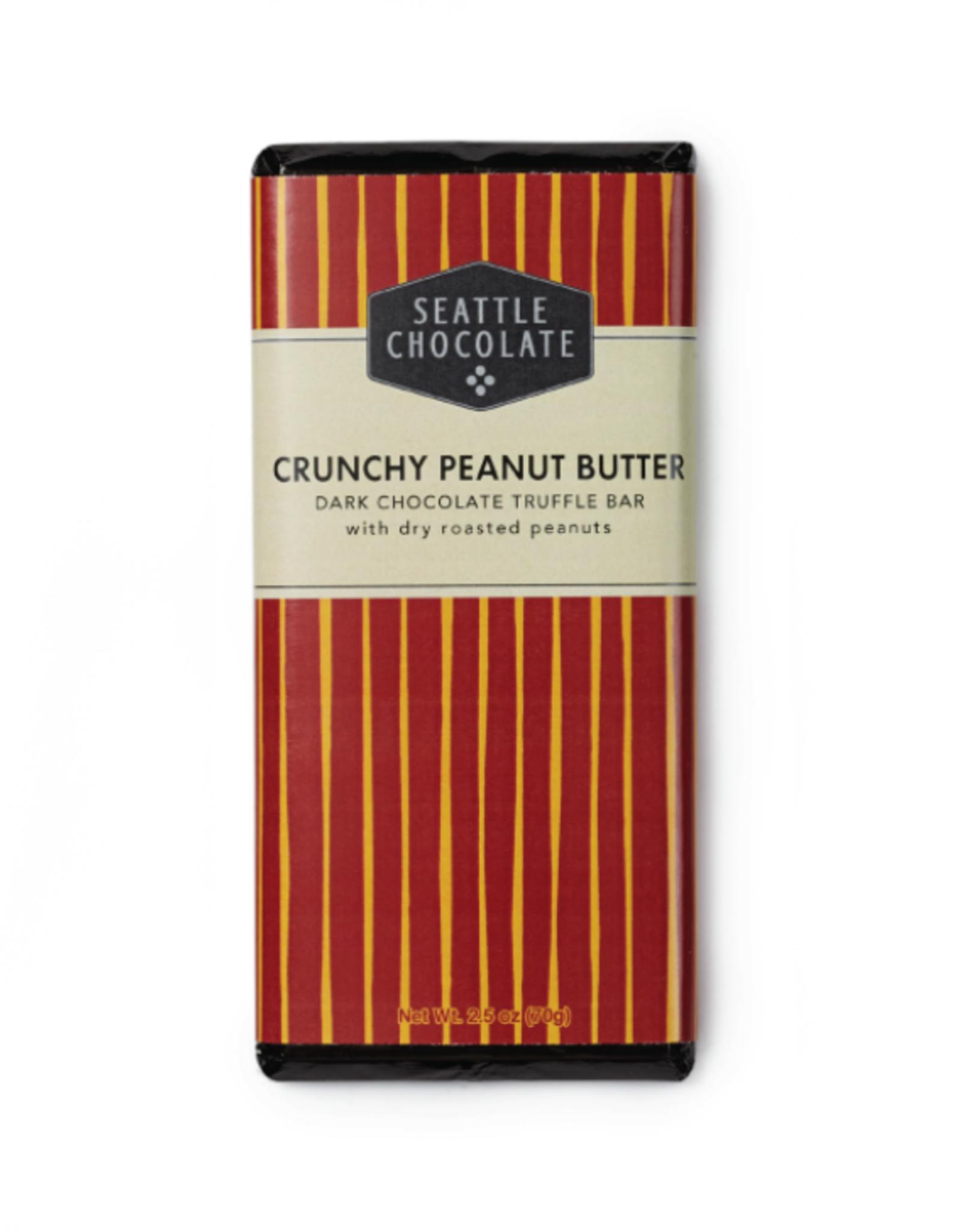 Seattle Chocolate Crunchy Peanut Butter Truffle Bar