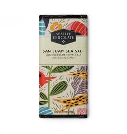 Seattle Chocolate San Juan Sea Salt Truffle Bar