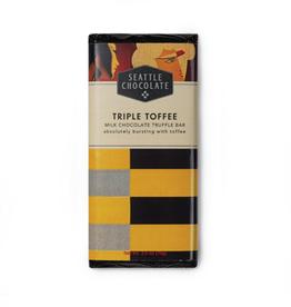 Seattle Chocolate Triple Toffee Truffle Bar