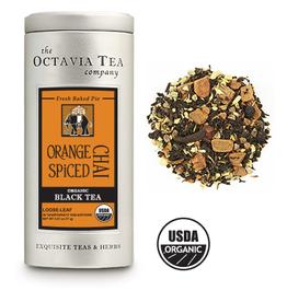 Octavia Tea Company Orange Spiced Chai Tea Tin, Loose Leaf