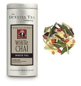Octavia Tea Company White Chai Tea Tin, Loose Leaf