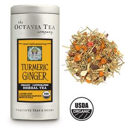 Octavia Tea Company Turmeric Ginger Tea Tin, Loose Leaf