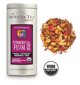 Octavia Tea Company Turmeric Plum Berry Tin, Loose Leaf