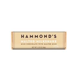Hammond's Malted Milk Shake Chocolate Bar