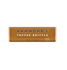 Hammond's Toffee Brittle Choc Bar