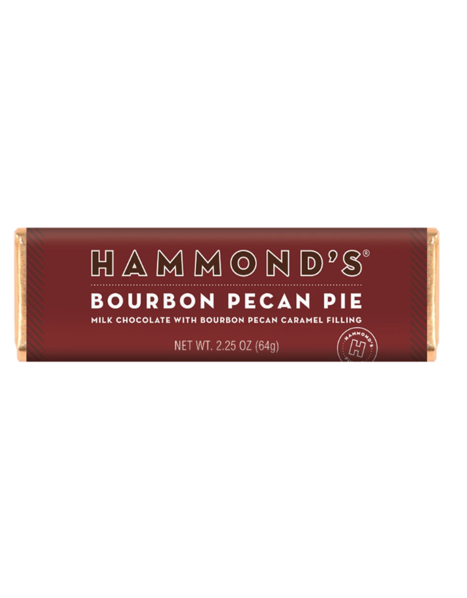 Hammond's Bourbon Pecan Pie Milk Choc Bar