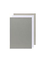Now Designs Floursack Dishtowel Set, London/White/Grey