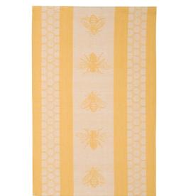 Now Designs Jacquard Dishtowel, Honeybee