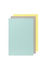 Now Designs Floursack Dishtowel Set, Zest/Moonstruck/Jade
