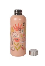 Now Designs Danica Water Bottle, 17oz, Small World