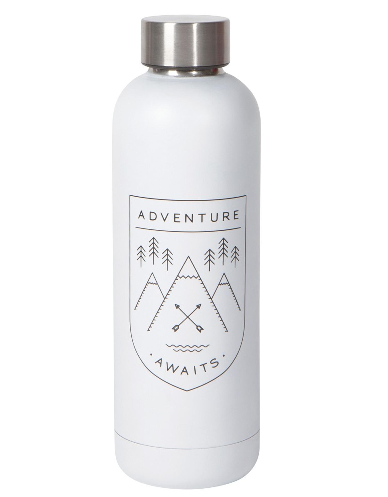 Now Designs Danica Water Bottle, 17oz, Adventure Awaits