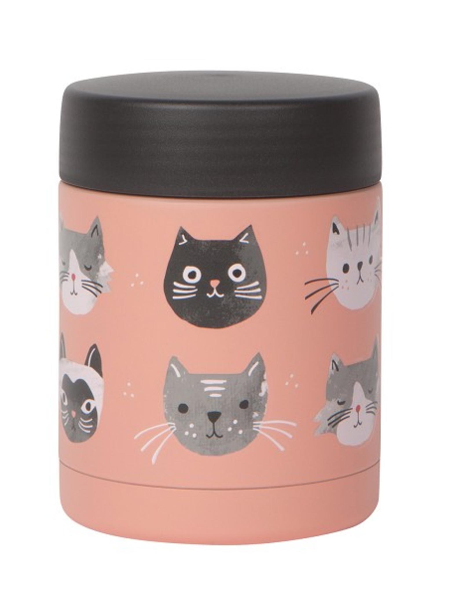 Now Designs Food Jar 12oz, Cats Meow