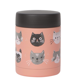 Now Designs Food Jar 12oz, Cats Meow