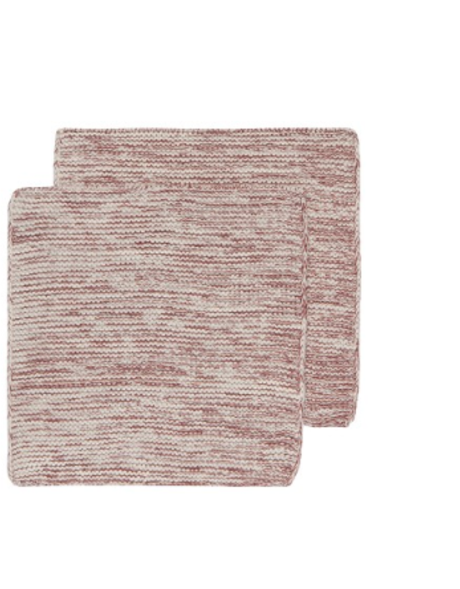 Now Designs Knit Dishcloth S/2, Wine