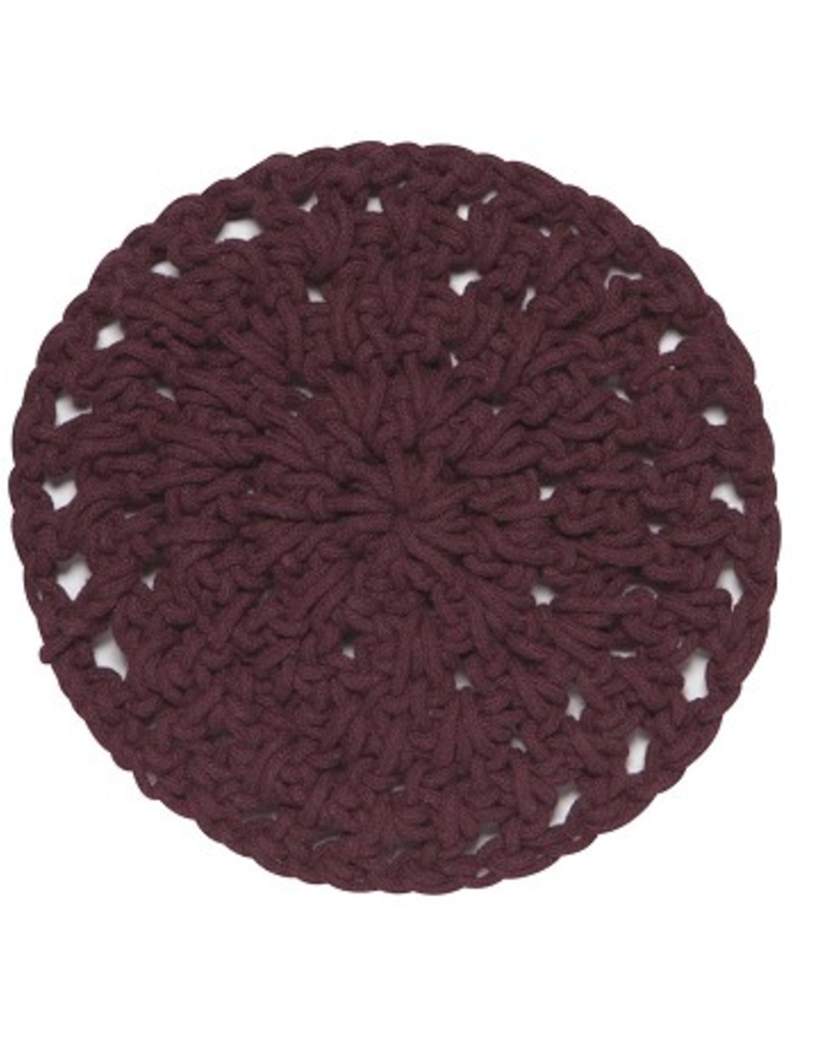 Now Designs Knotted Trivet, Wine