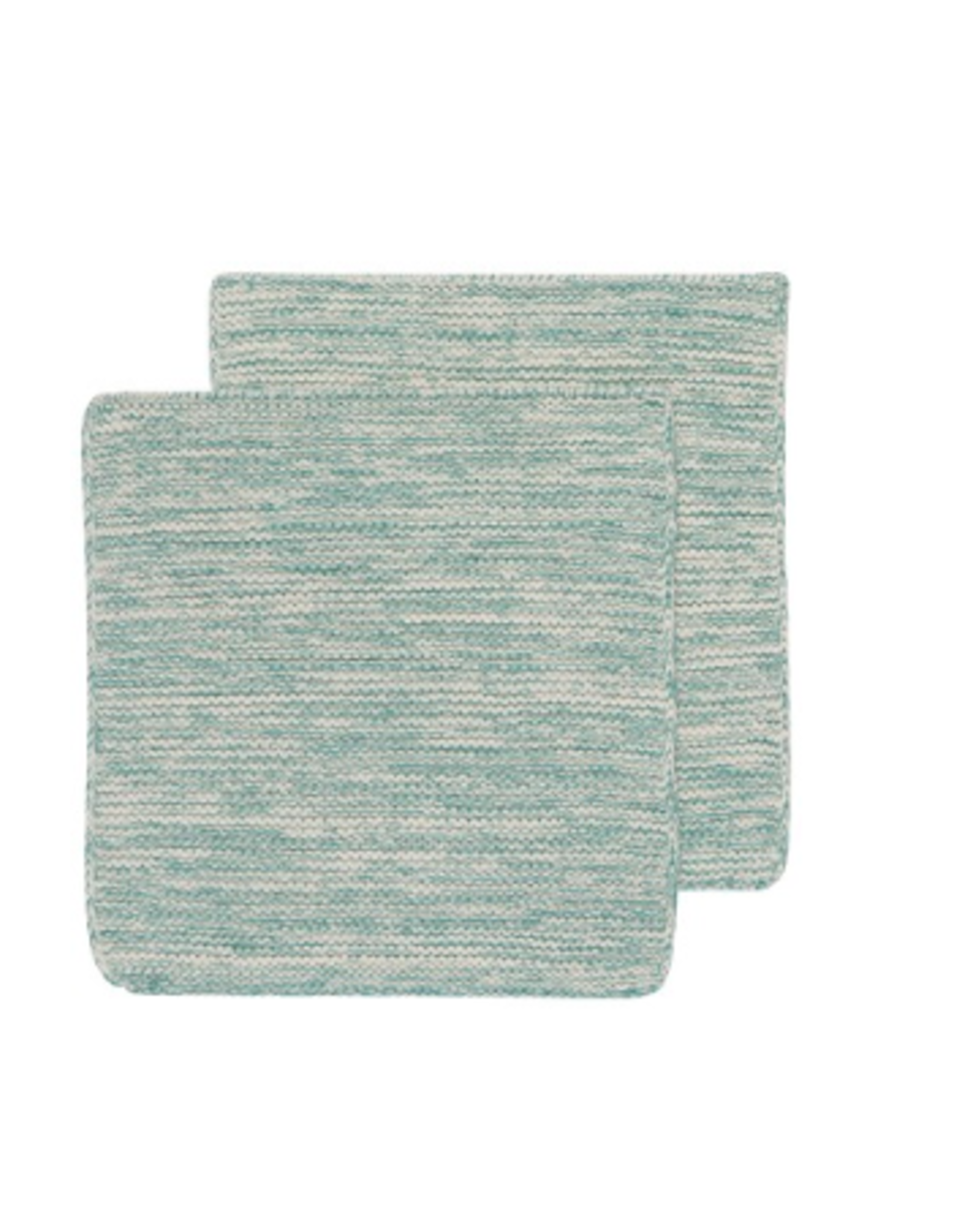 Now Designs Knit Dishcloth S/2, Lagoon