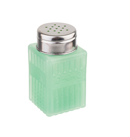 Tablecraft Jadeite Glass Salt & Pepper Shaker, 2oz