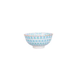 BIA Cordon Bleu Peony Bowl, Turquoise