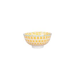 BIA Cordon Bleu Peony Bowl, Yellow