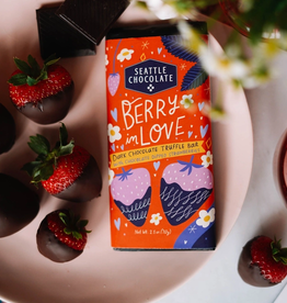 Seattle Chocolate Berry In Love Truffle Bar