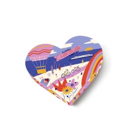 Seattle Chocolate Take Me Anywhere Heart - Asst Choc Truffles