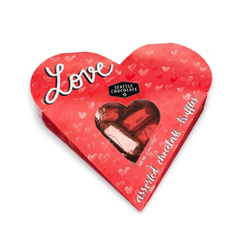 Seattle Chocolate Love Heart - Asst Choc Truffles