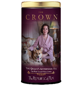 The Republic of Tea The Queens Afternoon Tea, 36 Bag Tin