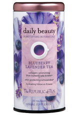 The Republic of Tea Daily Beauty Tea 36 Bag Tin
