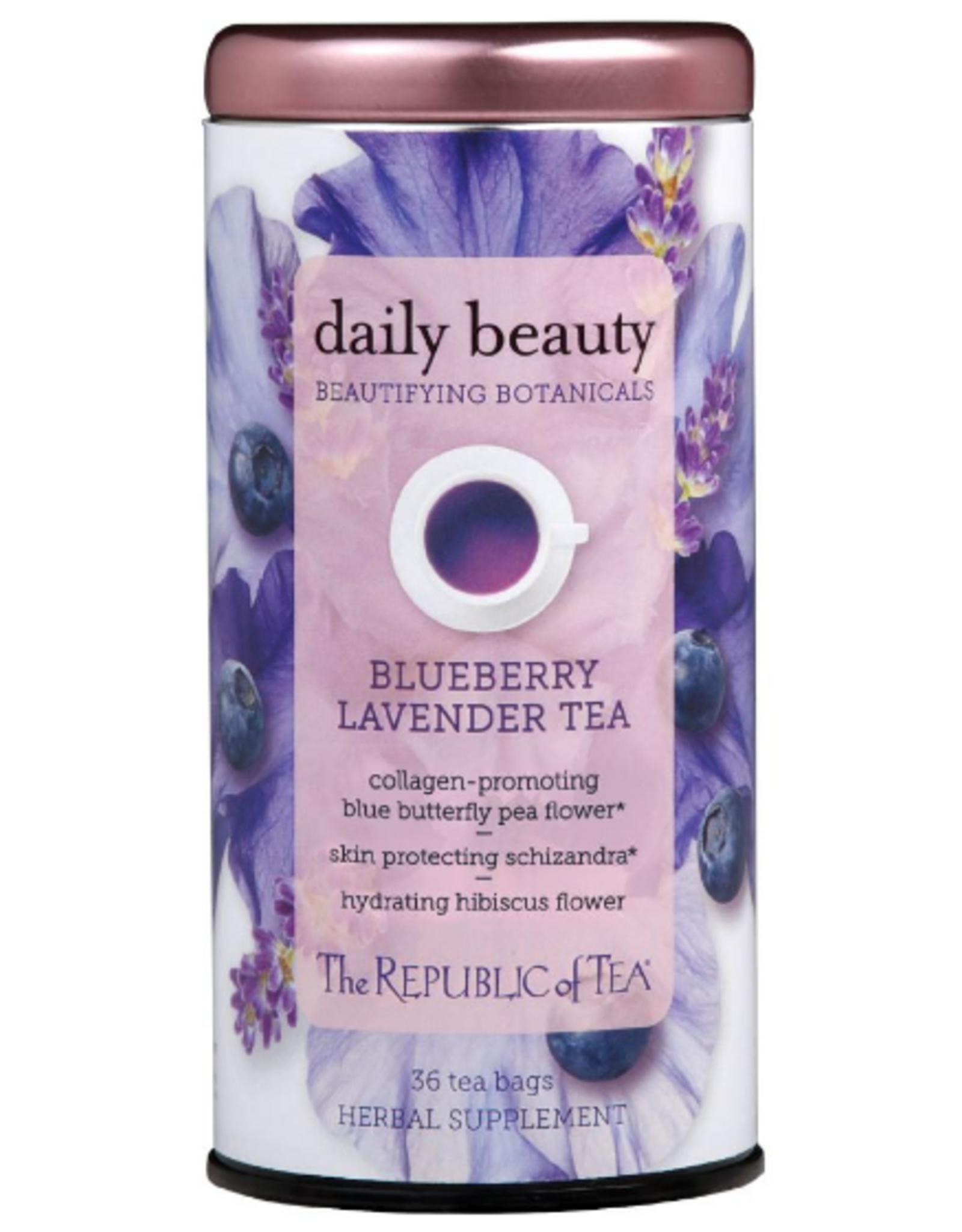 The Republic of Tea Daily Beauty Tea 36 Bag Tin