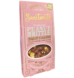 Sweetsmith Candy Co Sugar Free Keto Traditional Peanut Brittle