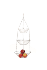 RSVP Hanging Basket, Stainless Steel