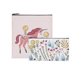 Now Designs Snack Bag, Set 2, Unicorn