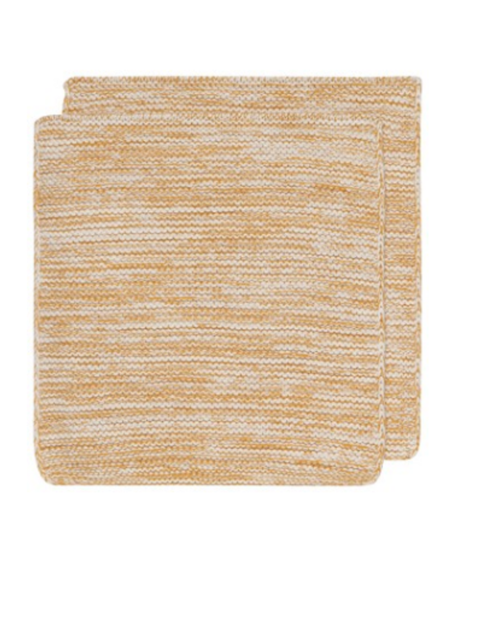 Now Designs Knit Dishcloth S/2, Ochre