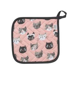 Now Designs Potholder, Cats Meow