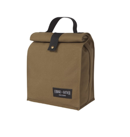 Now Designs Canvas Lunch Bag, Green,