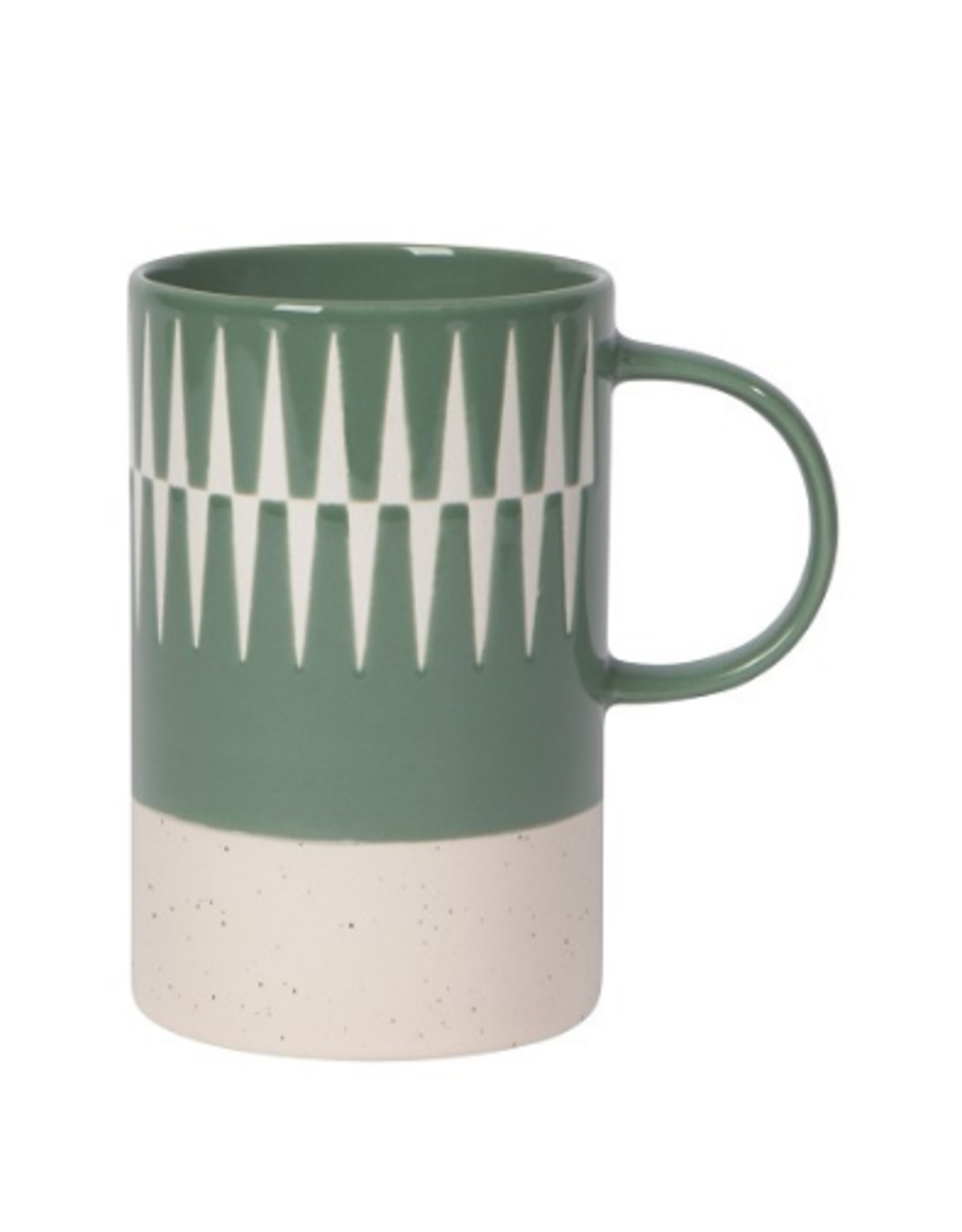 Now Designs Etch Mug, Jade