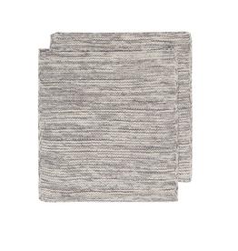 Now Designs Knit Dishcloth S/2, Shadow Grey