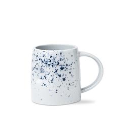 Tag Mug Indent - Blue Splatter