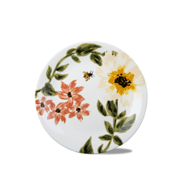 """Tag Plate 8"""" - Bee Floral"""