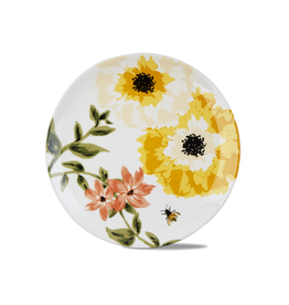 """Tag Platter 14"""" - Bee Floral"""