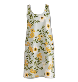 Tag Apron, Bee Floral