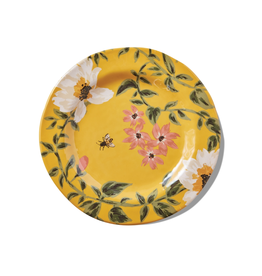 Tag Dinner Plate S/4 - Bee Floral