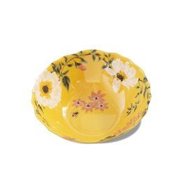 Tag Serving Bowl - Bee Floral