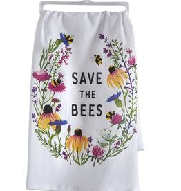 Tag Save The Bees Dishtowel