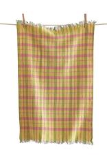 Tag Dishtowel - Yellow Plaid