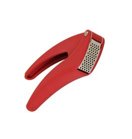 Kuhn Rikon Easy-Clean Garlic Press, Red