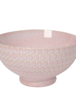 "Now Designs Bowl 8"", Honeycomb Pink"