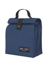 Now Designs Canvas Lunch Bag, Blue