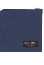 Now Designs Canvas Snack Bag, Blue